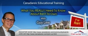 What You REALLY Need To Know About Rent To Own #1 with Guy Lew