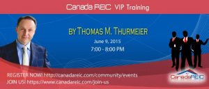 Ask Real Estate Lawyer - Canada REIC Mentor  Thomas Thurmeier