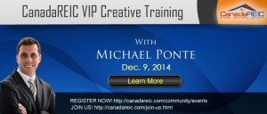 VIP 100% Creative Training with Michael Ponte, December 9,2014