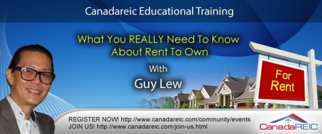 What You REALLY Need To Know About Rent To Own #2 with Guy Lew